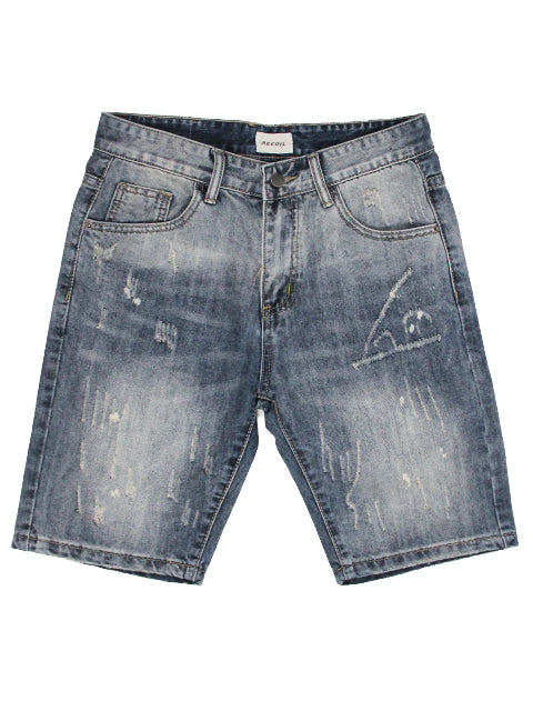 Casual Denim Shorts 123