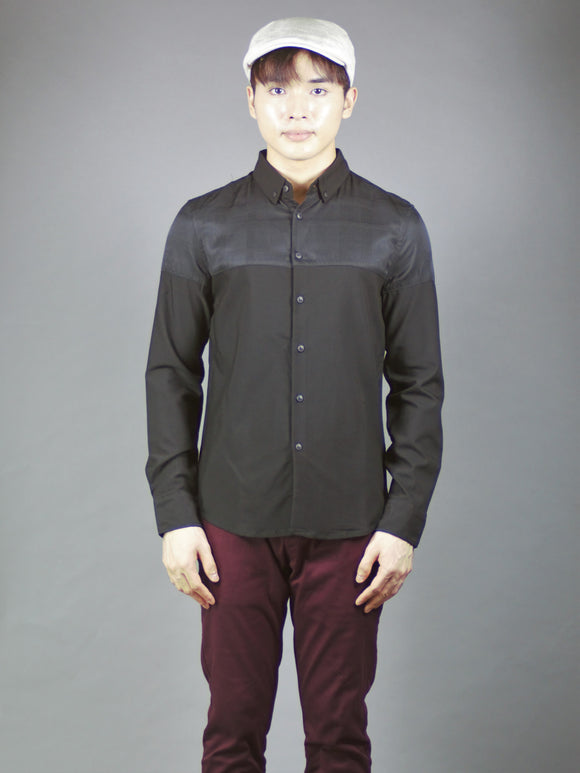 Long Sleeve Shirt (Black) 1556