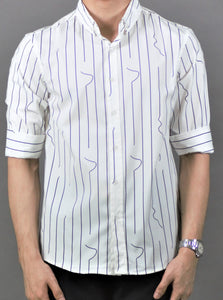 3/4 Sleeve Shirt (White) 1750