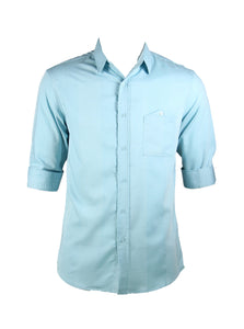 3/4 Simple Design Shirt (Mint blue) 1819