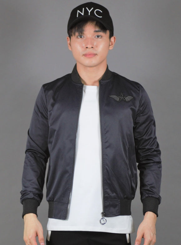 Bomber Jacket (Navy) 2192