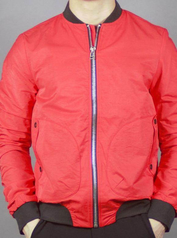 Bomber Jacket (Red) 2193