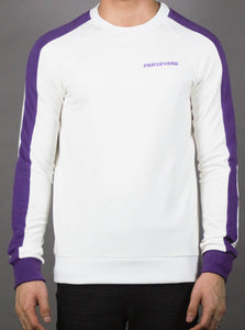 '' PERSEVERE ''Designed Pullover (PURPLE) 2211