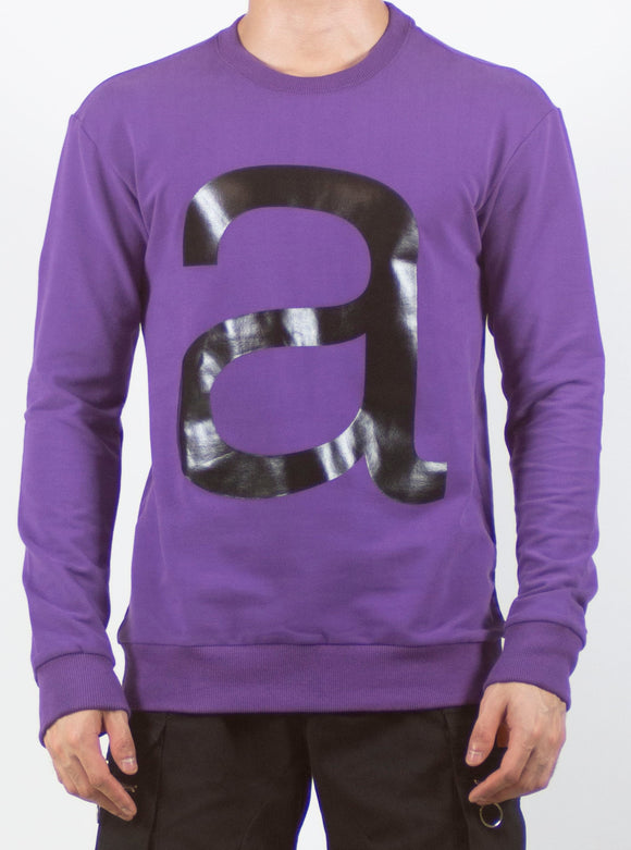 a '' Designed Pullover (PURPLE) 2221