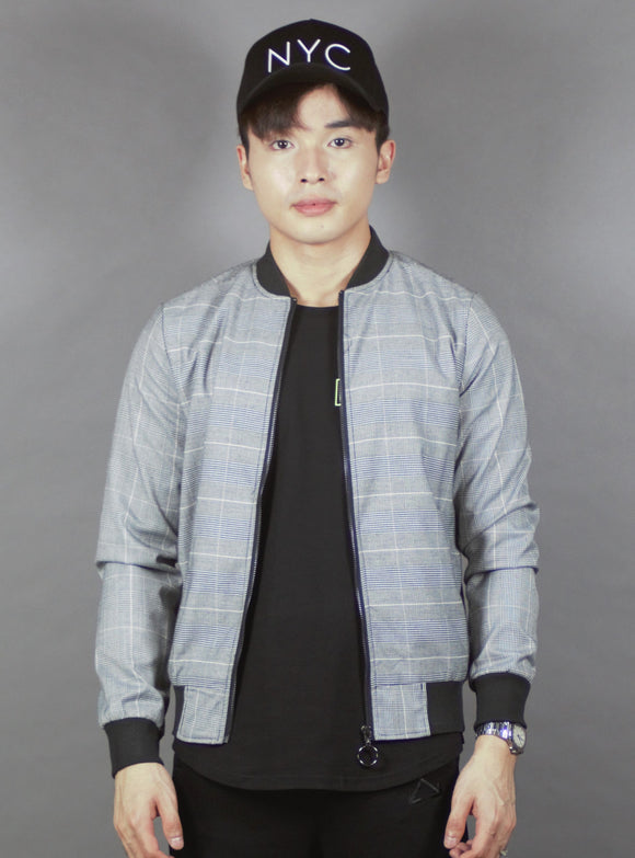 Bomber Jacket (Black) 2256