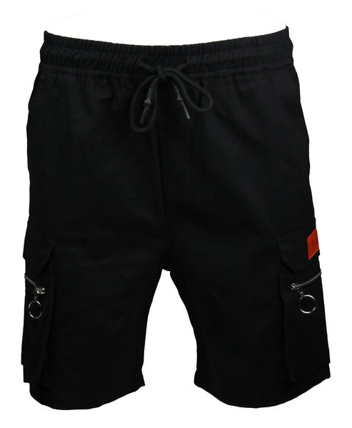 Cargo Shorts in Black 2327