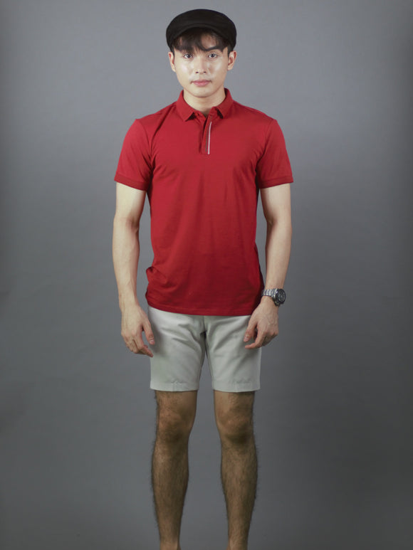 Polo T-Shirt (Red) 2332