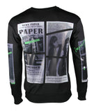 """IMPRESSION"" Designed Pullover (Black) 2347"