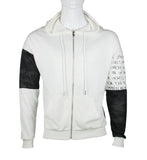 Hoodie Zip Jacket with Camou design (White) 2357