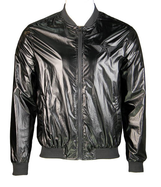 Super Lightweight Bomber Jacket (Black) 2363