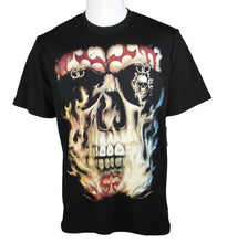 Load image into Gallery viewer, Skull Design Tee (Black) 2381