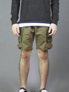 Cargo Shorts in Khaki (2389)