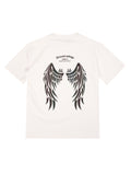 Dream Wings Reflective Oversized T-Shirt (White) 2505