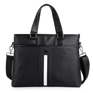 Men's Messenger bag with grab handle 30555