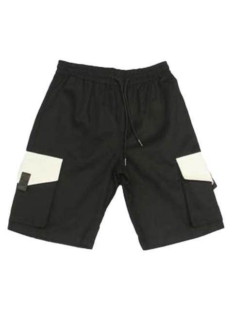 Jogger Shorts in Black 3502