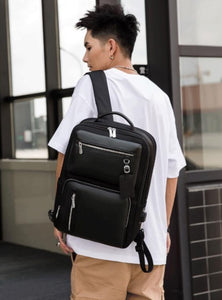 Men's Haversack (Black) 3934
