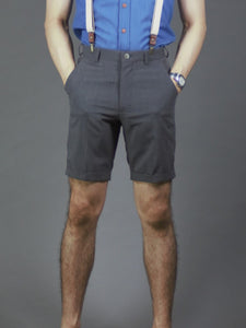 Slim fit chino shorts in (Grey) 514