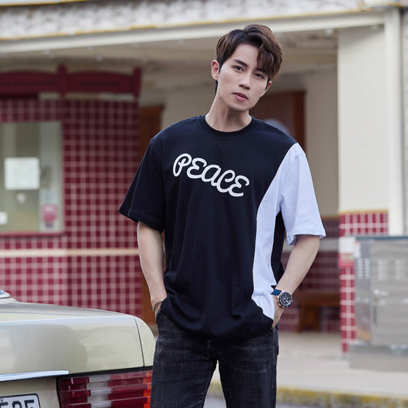 PEACE Oversized T-Shirt (Black) 2519