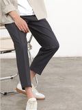 Slim Fit Pants (Dark Grey) 9830