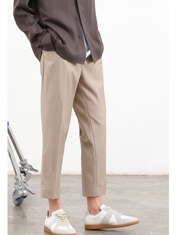 Slim Fit Pants (Khaki) 9830