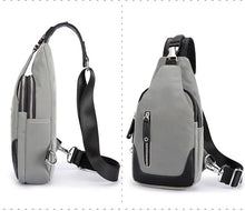 Load image into Gallery viewer, Grey Crossbody Bag 9948