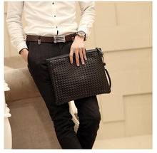 Load image into Gallery viewer, Black Clutch Bag 1225