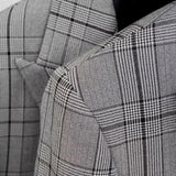 Slim Fit Checkered Blazer (Plaid) 5278