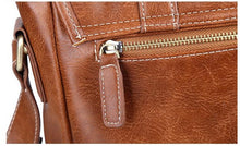 Load image into Gallery viewer, Faux Leather Brown Sling Bag 7705