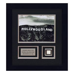 Hollywoodland - Artwork with metal from the original Hollywood Sign