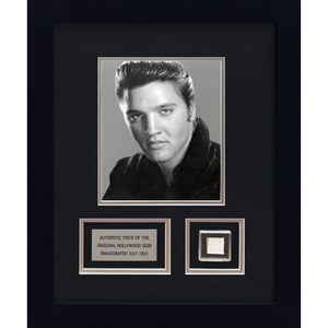 Elvis Presley - Artwork with metal from the original Hollywood Sign
