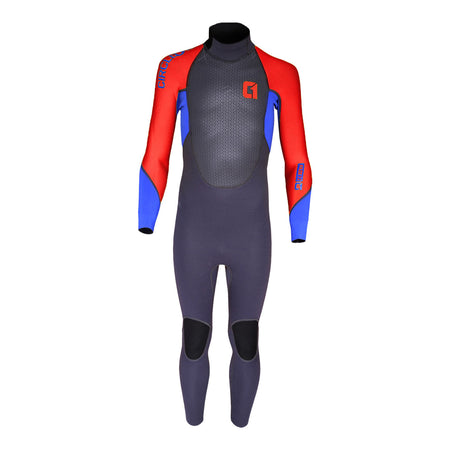 Circle One Kids Faze 3mm Wetsuit - Red