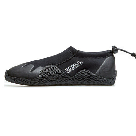 Gul 3mm Adult Power Slipper - Black & Silver