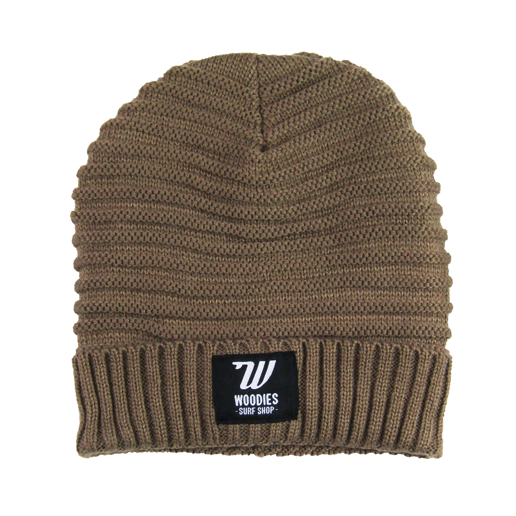 Braided Fleece Lined Beanie - Fennel