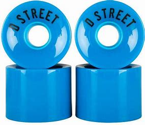 D Street 59 Cent Wheels - Blue - 59mm