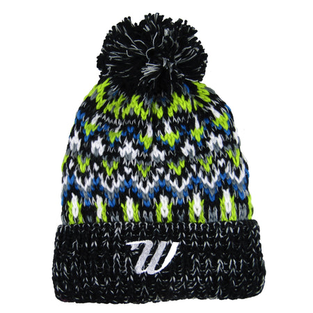 Fleece Lined Beanie - Liquorice Zing