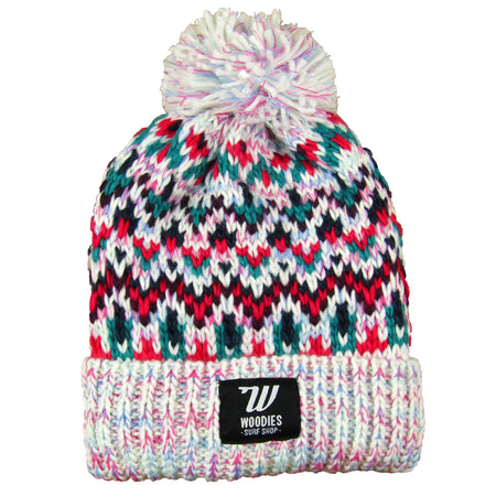 Fleece Lined Beanie - Sherbert Dip