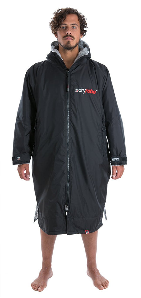 Dryrobe Advance - Long Sleeve - Black / Grey