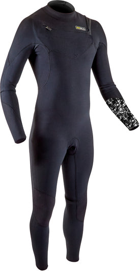 Gul Response FX 5/4 mm Chest Zip Wetsuit - Black/Camo