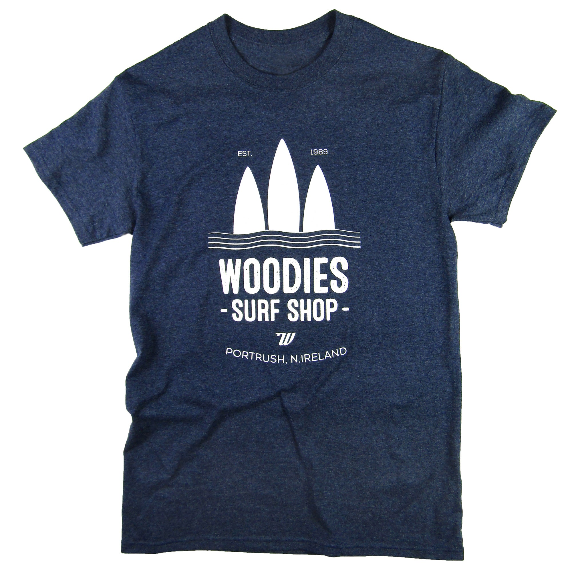 Mens - Heather Navy T-Shirt