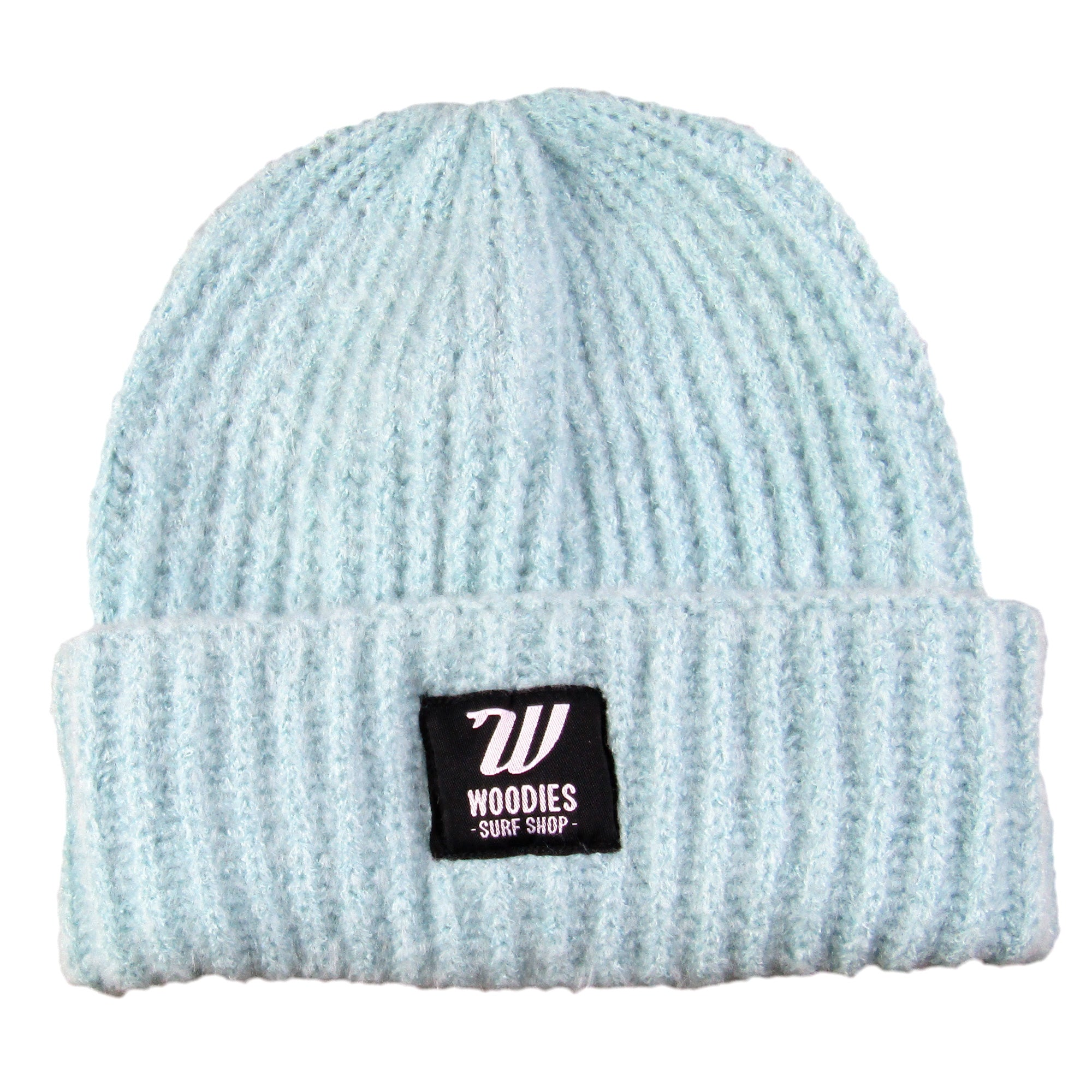 Plush Beanie - Soft Blue
