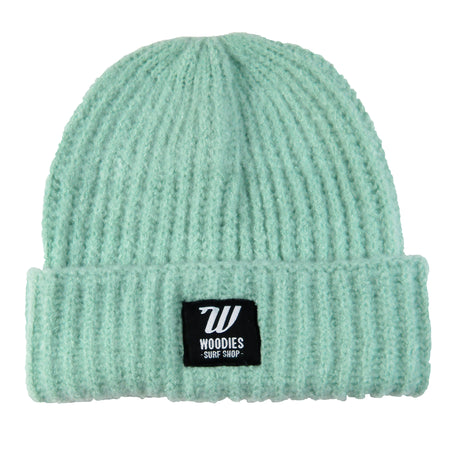 Plush Beanie - Soft Mint