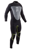 Gul Mens Response 5/3 mm Wetsuit - Black/Grey/Blue