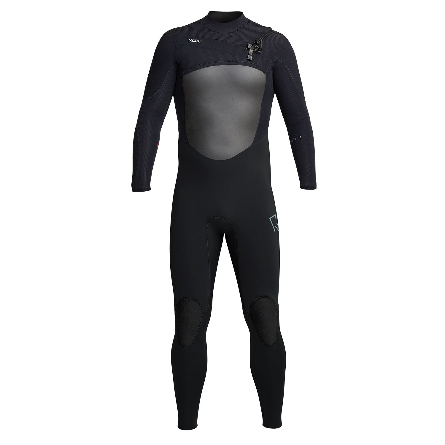 Xcel 5/4 mm Infiniti Chest Zip Wetsuit - Black