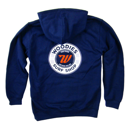 Woodies - Boys - Navy Hoody