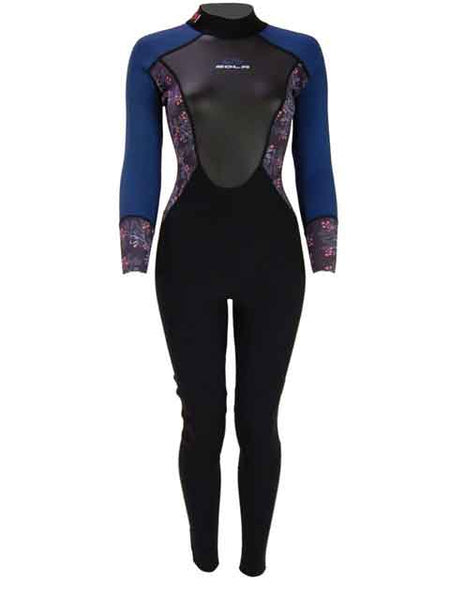 Sola Ladies Ignite 3/2 mm Wetsuit - Pink Berry