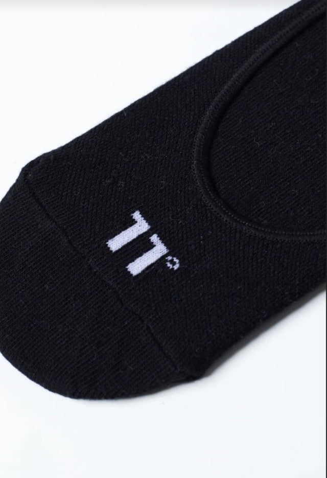 11 Degrees - Core Invisible Socks 3Darab - Black
