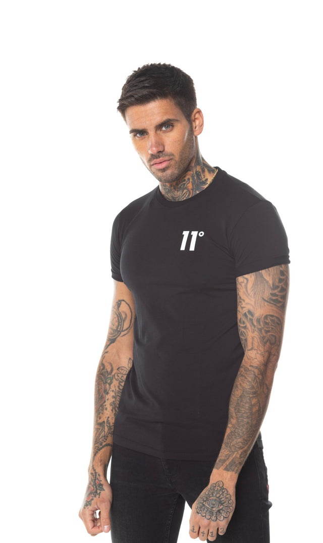 11 Degrees - Core Muscle T-Shirt - Black