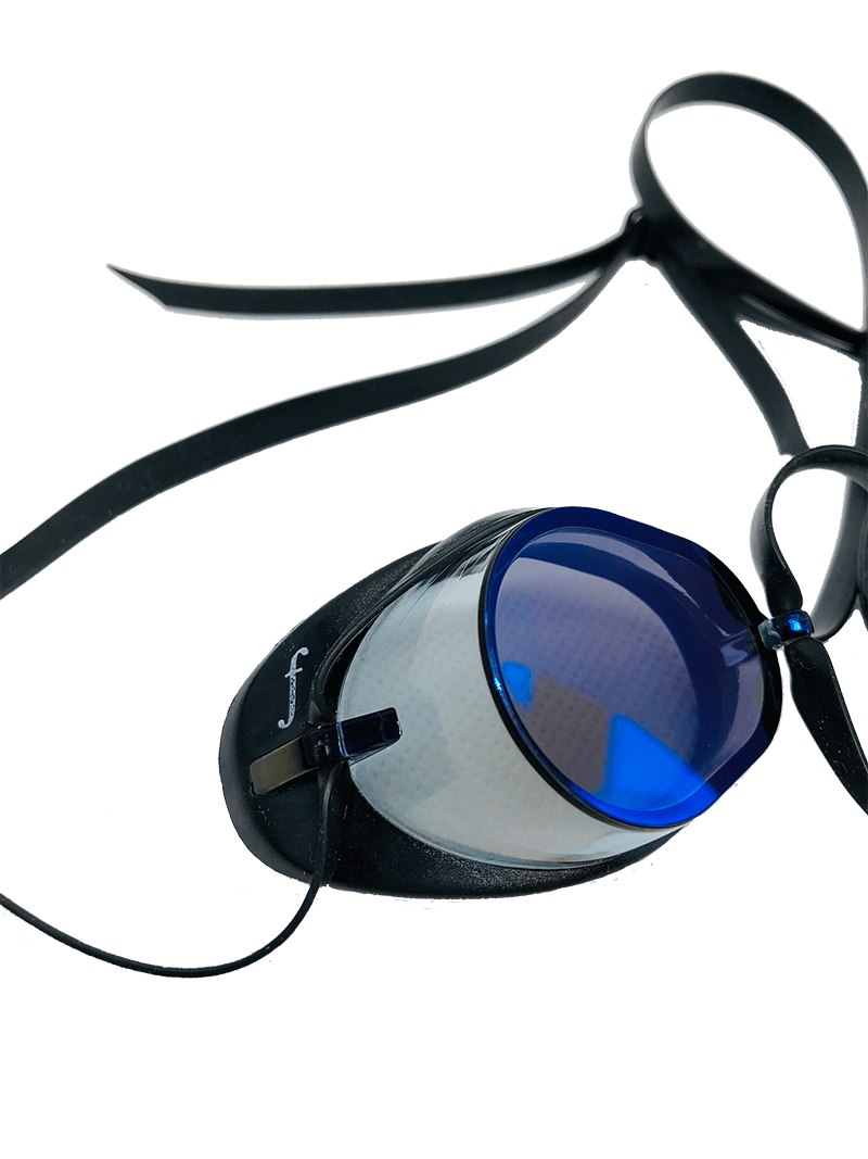 metallic swedish goggles