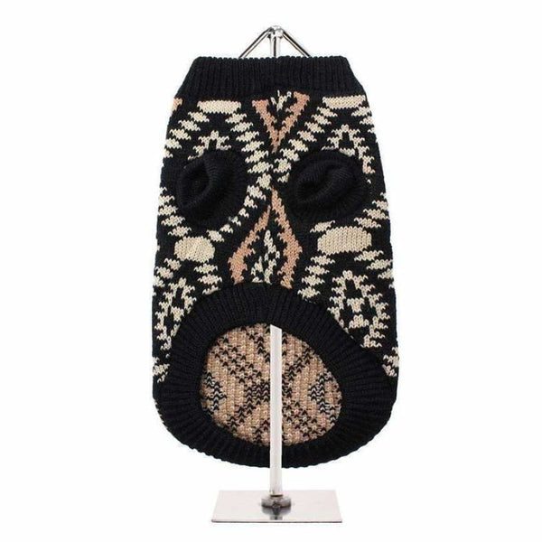 Aztec Retro Dog Jumper - Urban - 3