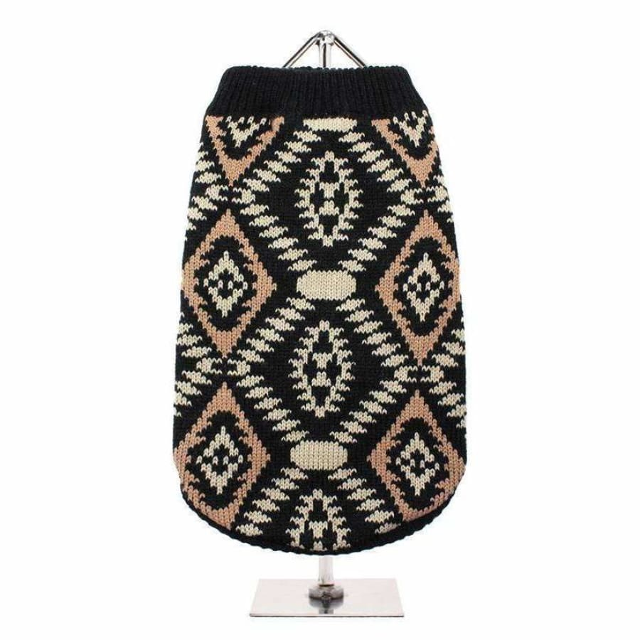Aztec Retro Dog Jumper - Urban - 1